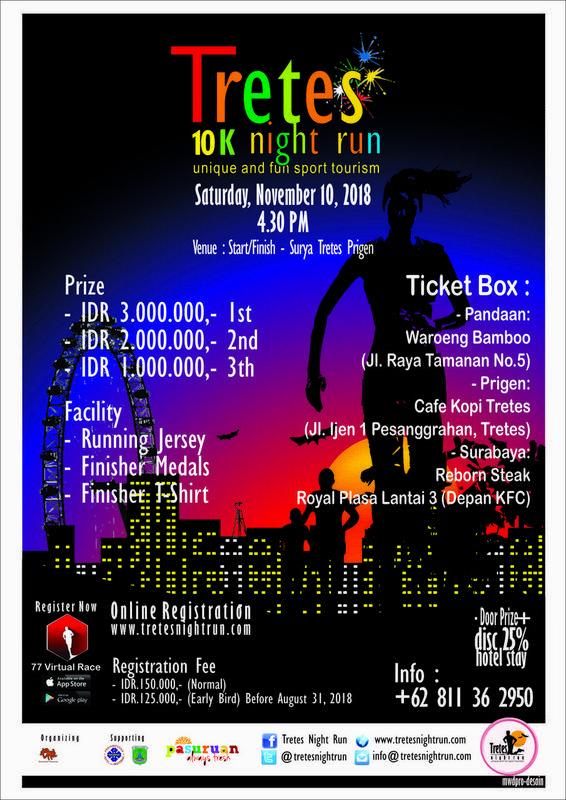 Tretes 10K Night Run 2018