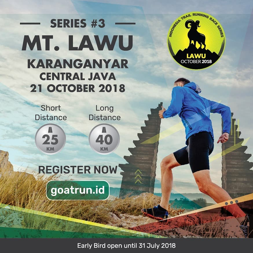 Goat Run Trail Running 2018 Series #3 Gunung Lawu