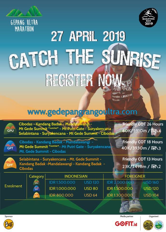 Gede Pangrango Ultra Marathon 2019