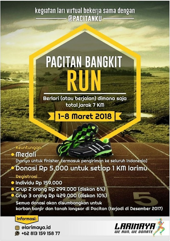 Pacitan Bangkit Run