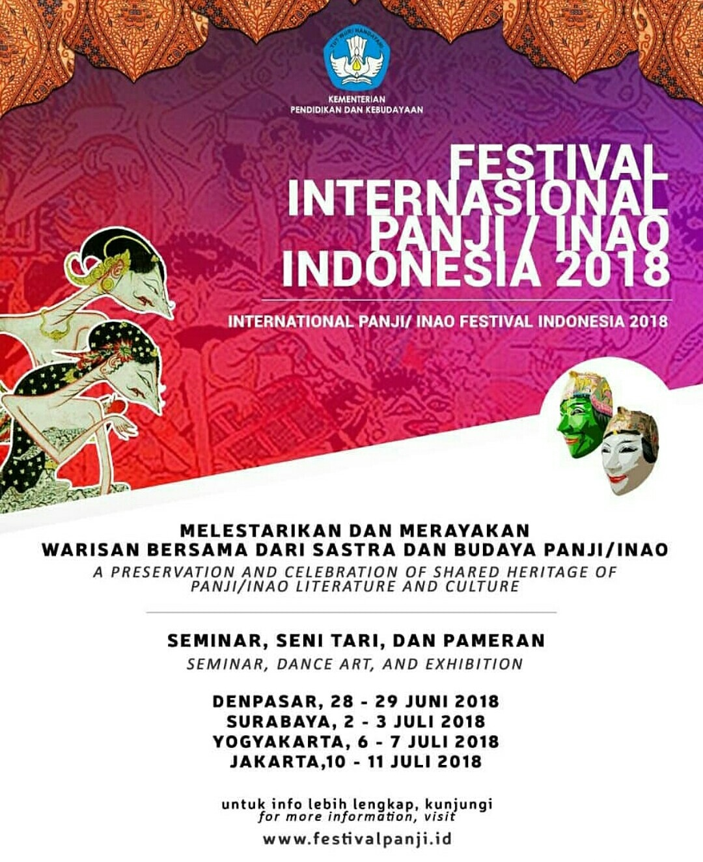 Festival Internasional Panji / Inao Indonesia 2018