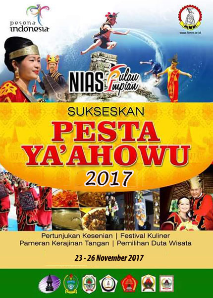 Ya'ahowu Nias Festival 2017