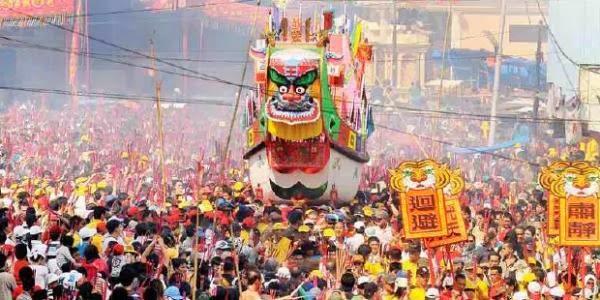 Bakar Tongkang Festival 2018